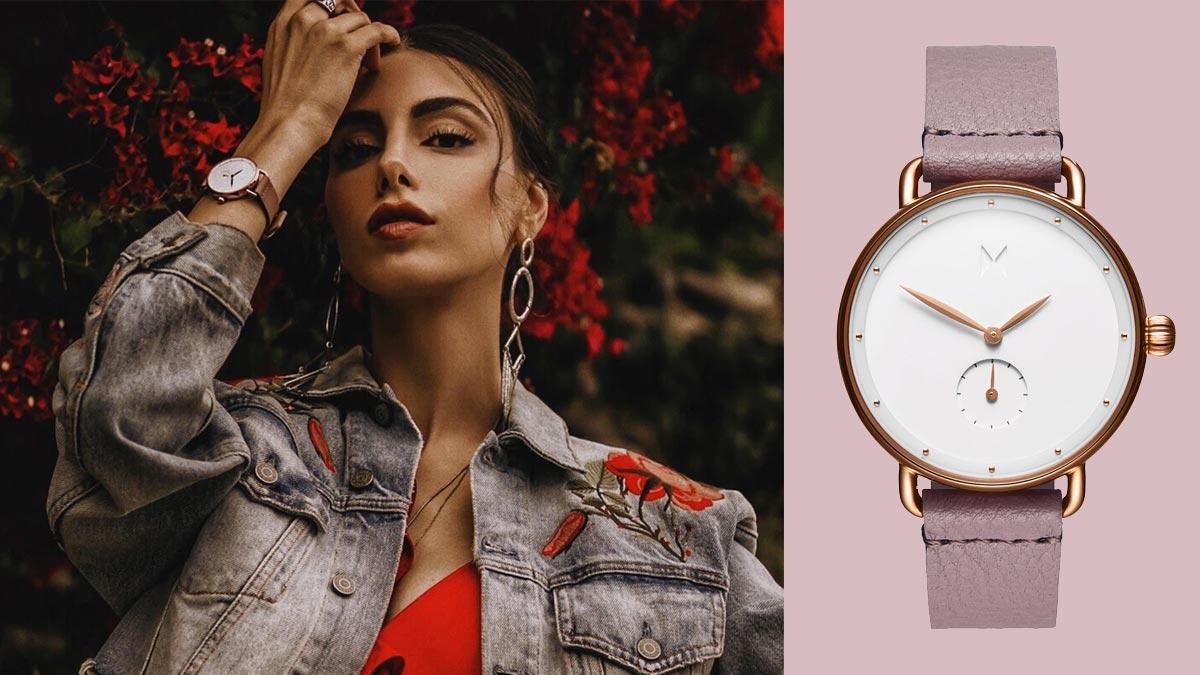 Piękny minimalistyczny zegarek od marki MVMT