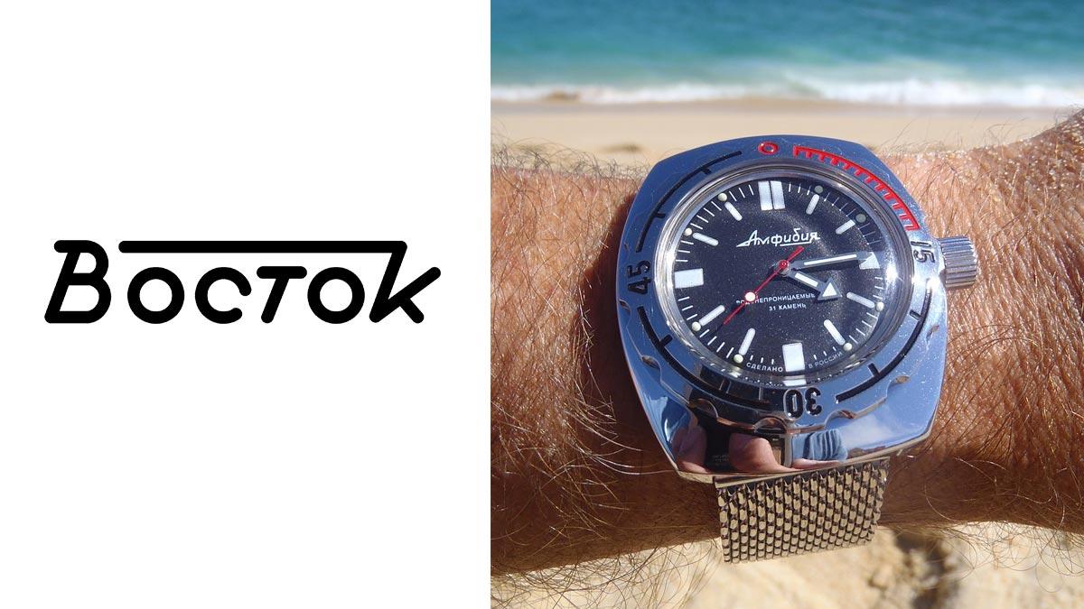 Legendarny rosyjski zegarek Vostok Amphibia