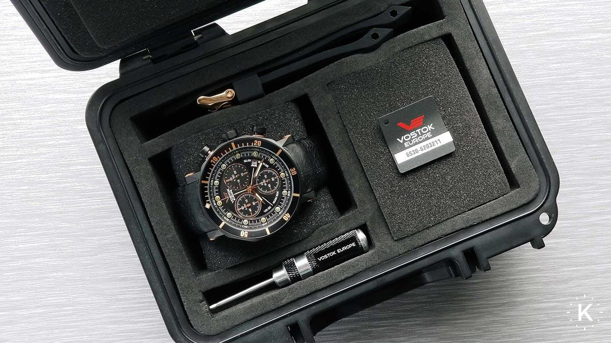 Pudełko na zegarek Vostok Europe