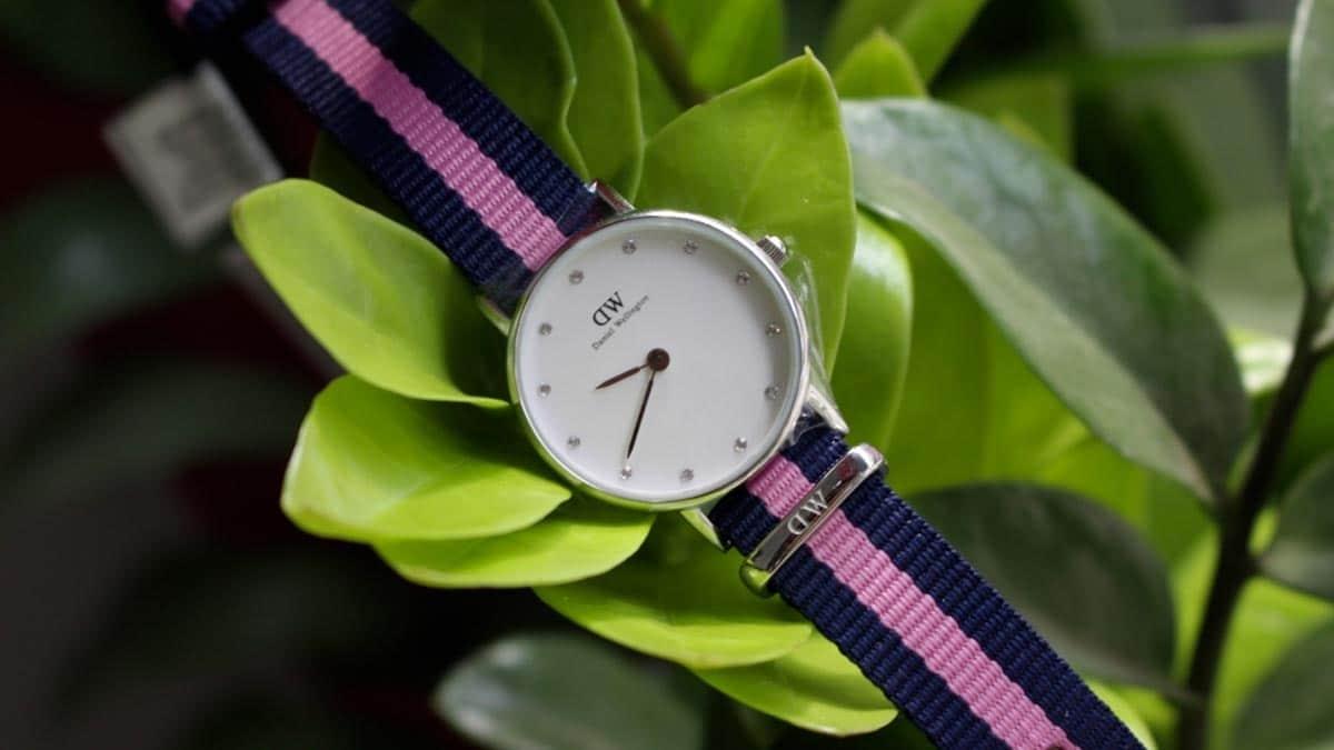Jeden z pierwszych modeli zegarków damskich Daniel Wellington