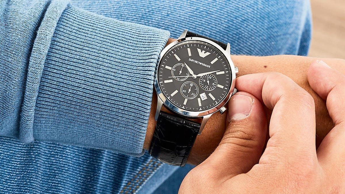 Luksusowy zegarek dla mężczyzny Emporio Armani