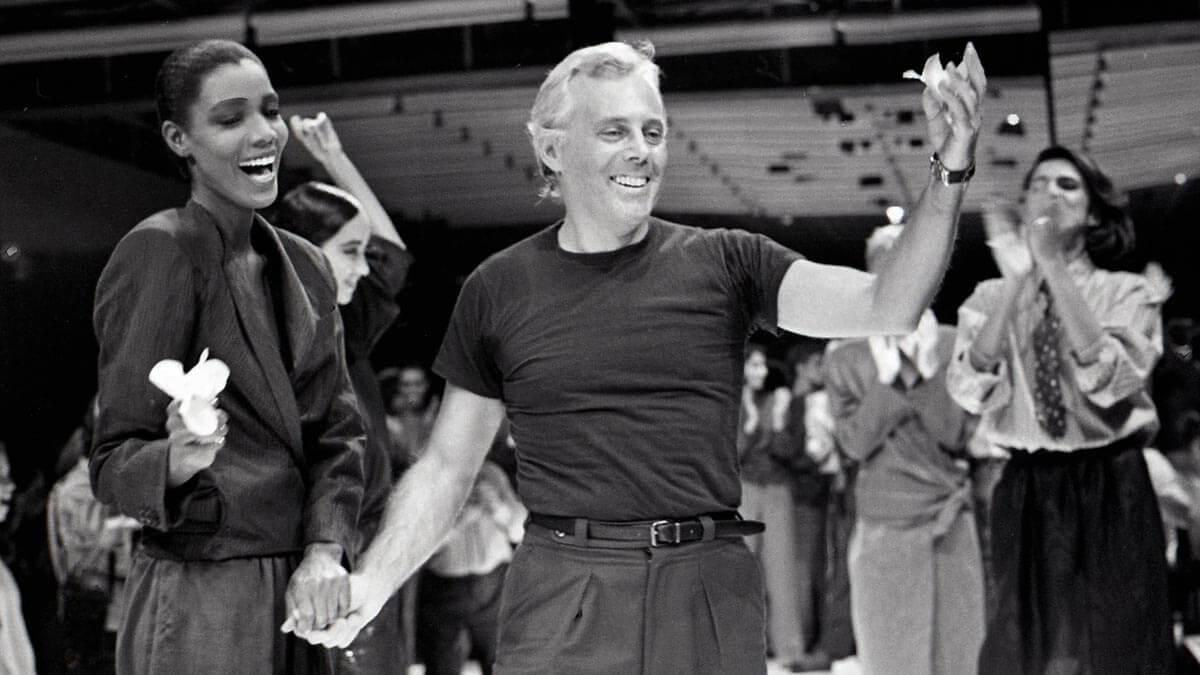 Poznaj jednego z najbardziej kultowych projektantów mody na świecie - Giorgio Armaniego