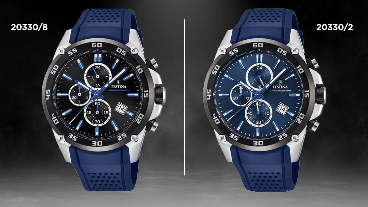 Niebieski zegarek Festina Originals