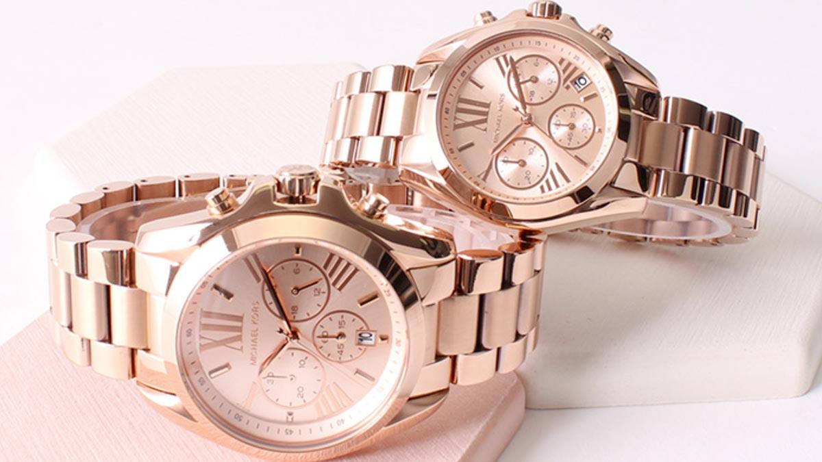 Stylowy damski zegarek dla każdej kobiety - zegarek w kolorze różowym