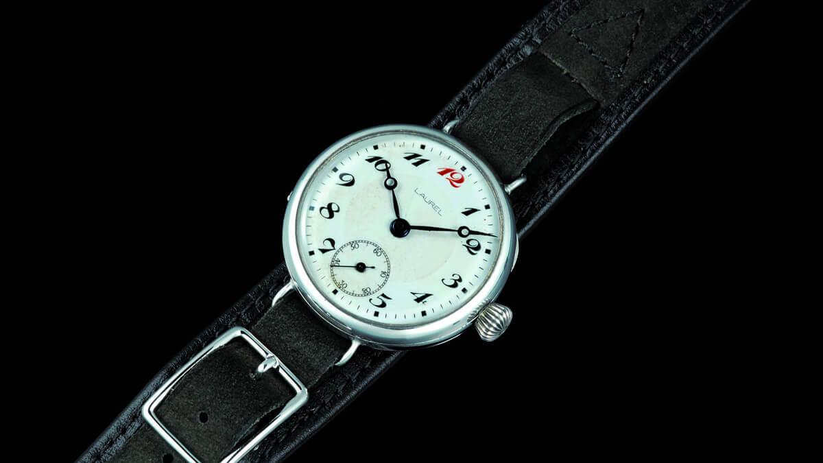 Pierwszy zegarek na rękę firmy Seiko - jeszcze pod nazwą Laurel