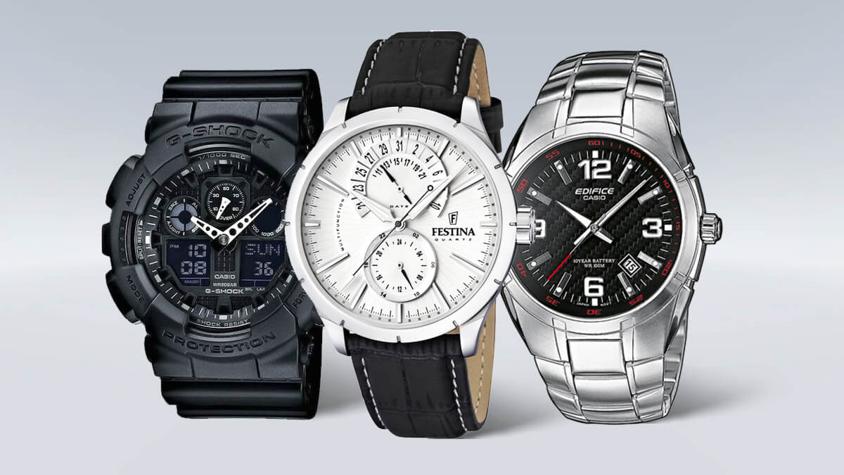 Tanie męskie zegarki od sprawdzonych marek