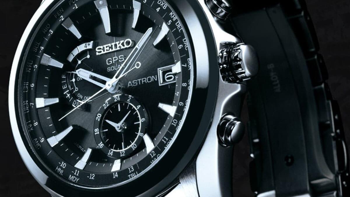 Solarny zegarek Seiko z odbiornikiem GPS