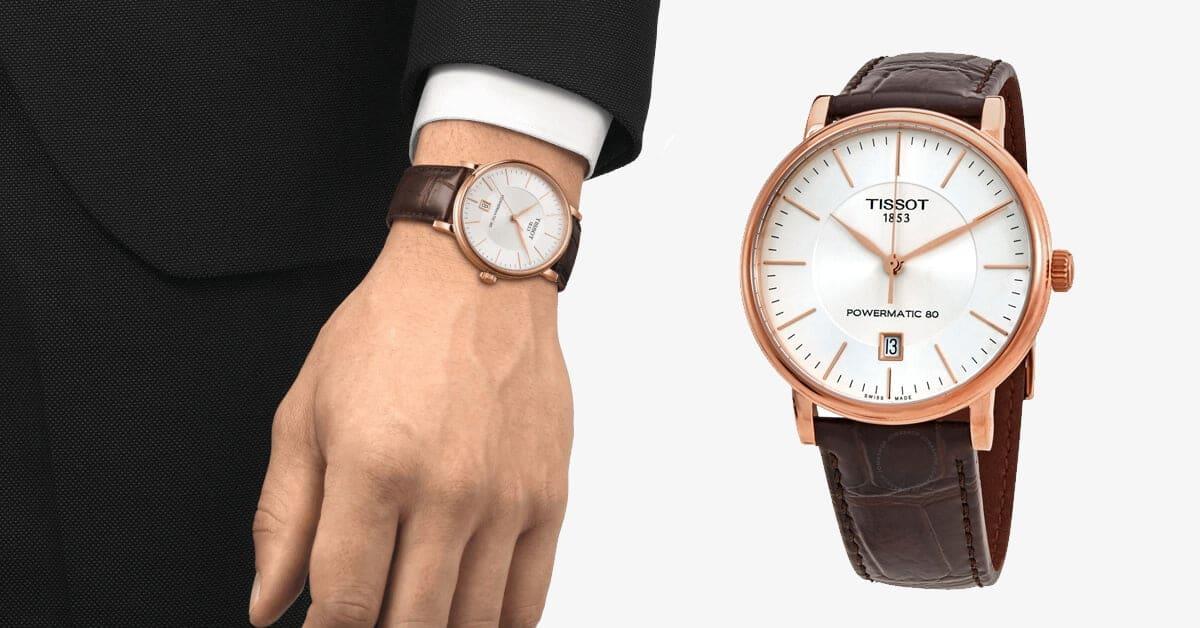 Luksusowy zegarek z edycji Tissot Carson